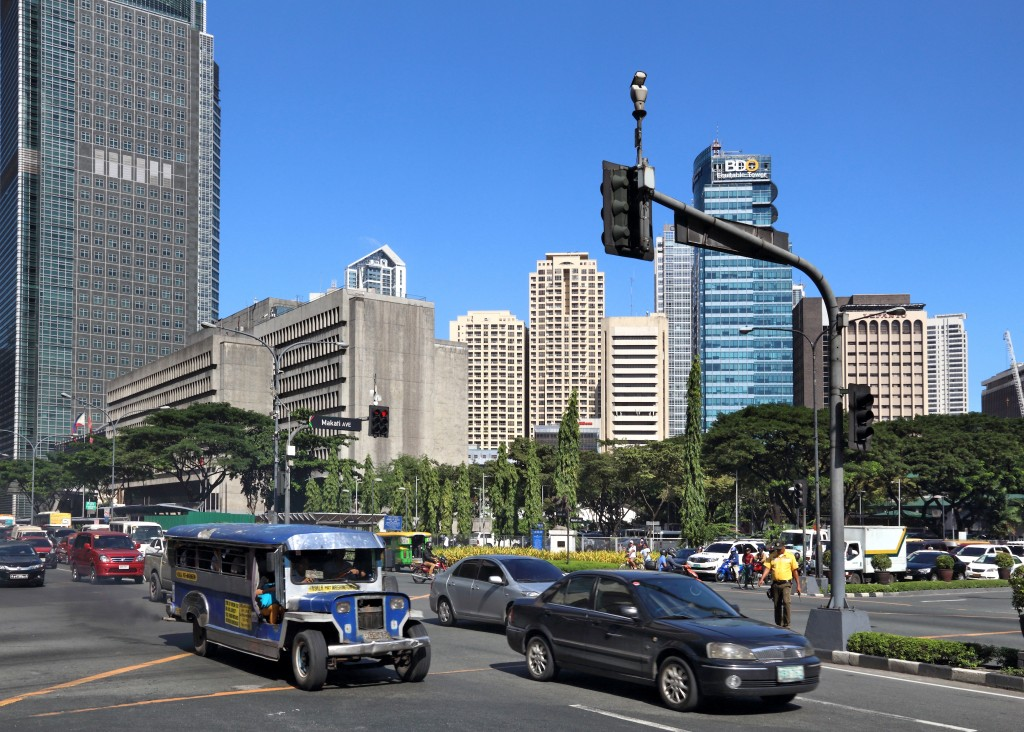 Manila with jeepney