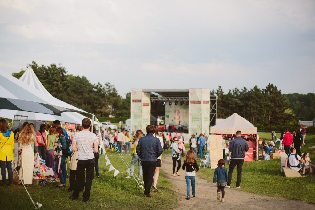 Open air concert and event