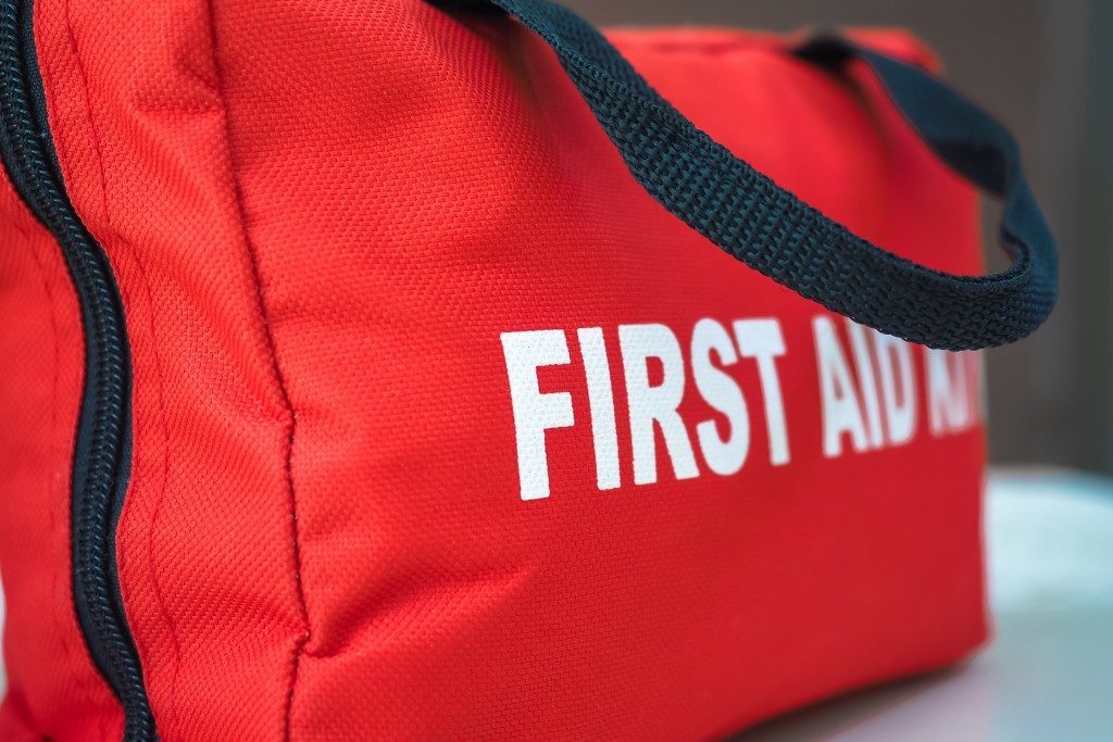 First aid kit bad for emergencies