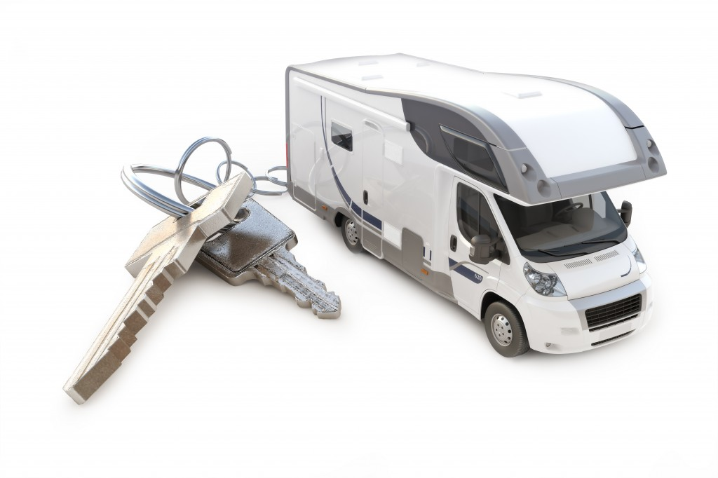 Sprinter Van with keys