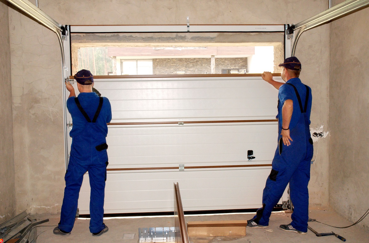 Fixing garage door
