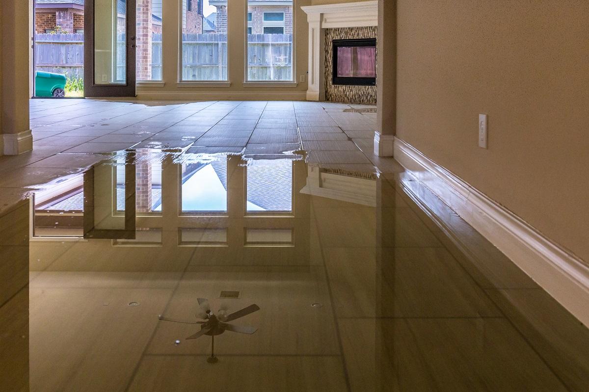 flooding inside the house