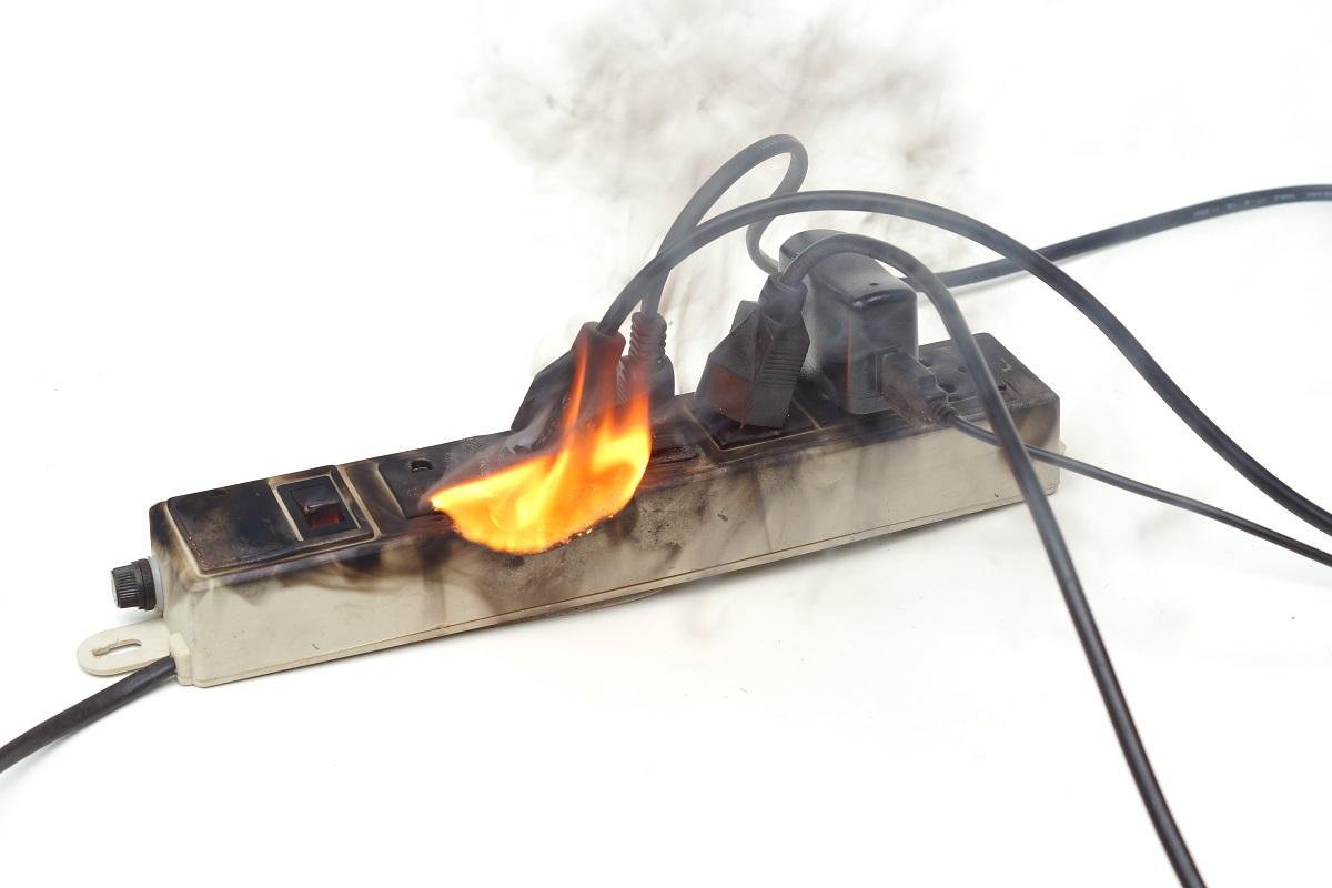 Overloaded plugs