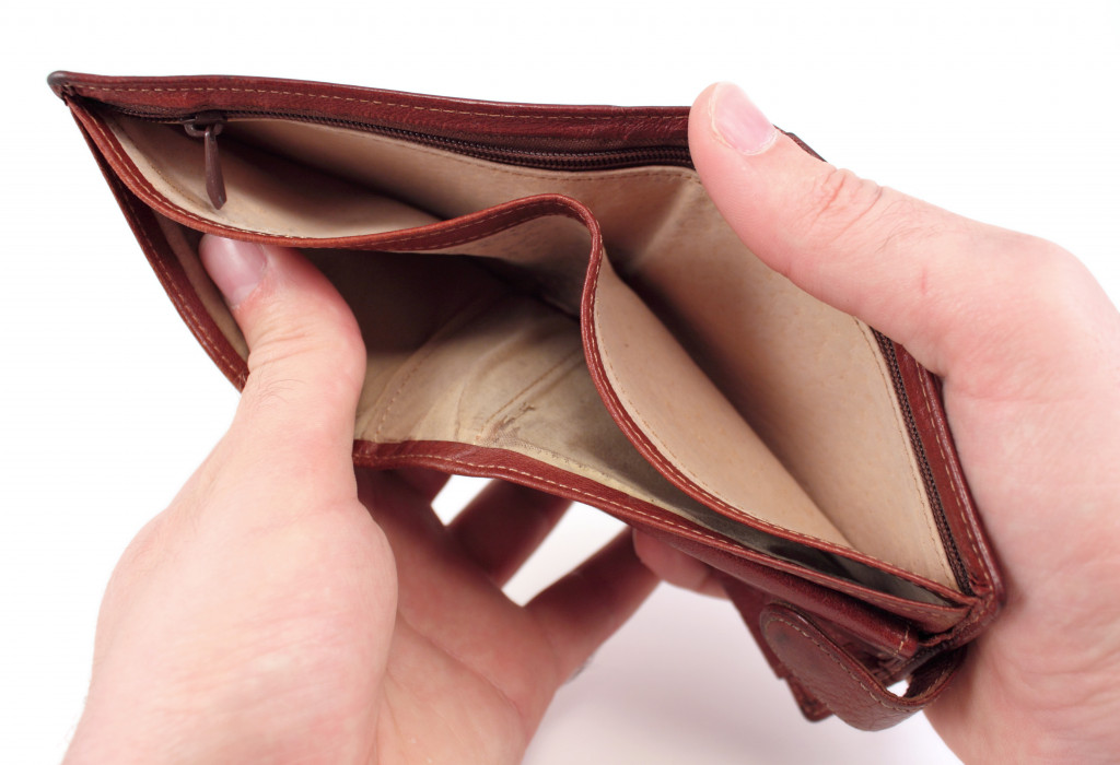 wallet empty